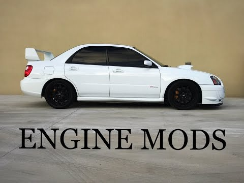 2005 Subaru WRX STI Engine Mods | 350+ Horsepower