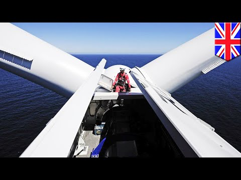Mega projects 2017: World's biggest wind farm to be built off eastern British coast - TomoNews