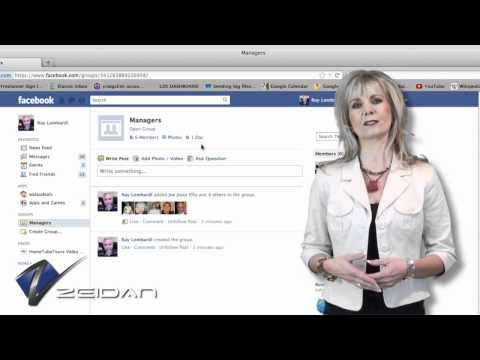 Creating & Managing a Facebook Group