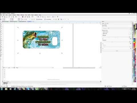 EDITING & USING VENDOR BLANK TEMPLATES WITH COREL