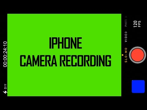 iPhone Camera Recording - Green Screen Footage Download ( iMovie & Final Cut Pro X)