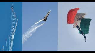 Air Force's fighter pilots, paragliders wow crowds in IAF Day rehearsal