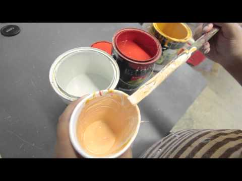 Mixing paint to match skin color Haunt Ventures 179