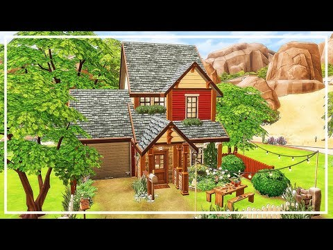 SIMS 4 COTTAGE HOUSE 💜 Speed Build + Download