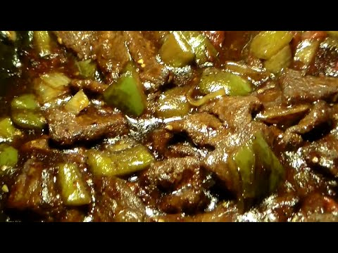 The BEST Chinese-Style Pepper Steak Recipe: How To Make Pepper Steak