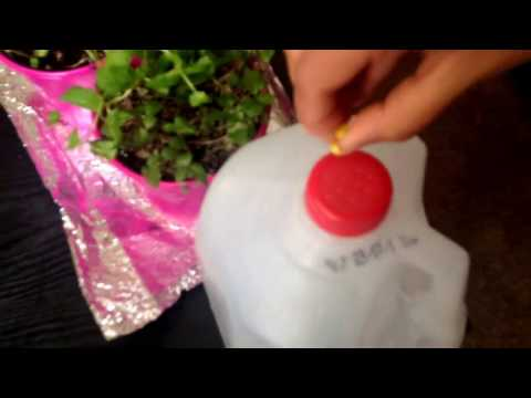 Home made garden sprinkler easy way