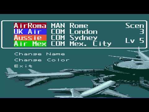 Super ultra flying simulating game