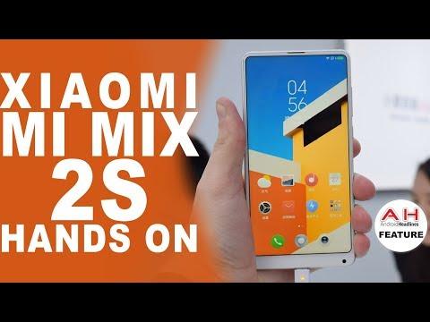 Xiaomi Mi MIX 2S Hands On