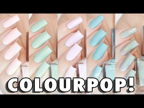NEW ColourPop Nail Polish Line | SWATCHES + REVIEW
