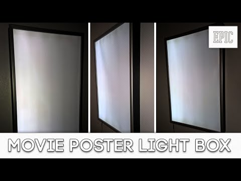 My Next Project: Movie Poster Box Light