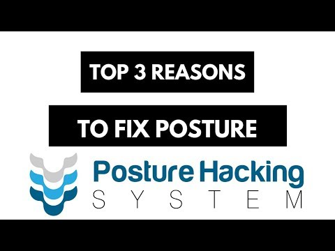 3 Reasons Why Posture is SO IMPORTANT! | Posture Hacking System