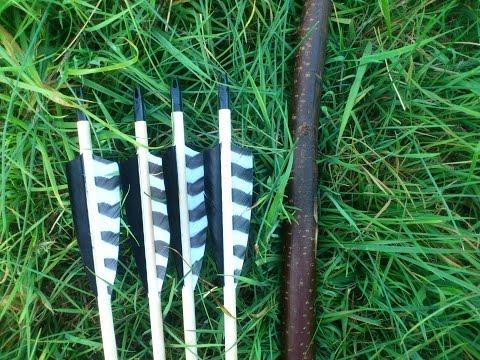 35 lb Hazel Survival Bow, Test Shooting
