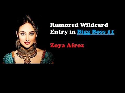 Zoya Afroz New Wildcard Entry in Bigg Boss 11