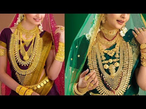 Latest kerala Gold wedding jewellery Designs - She Fashion