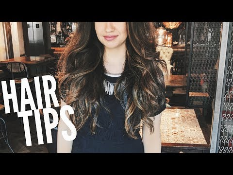 How I Grow Long Hair After Colouring