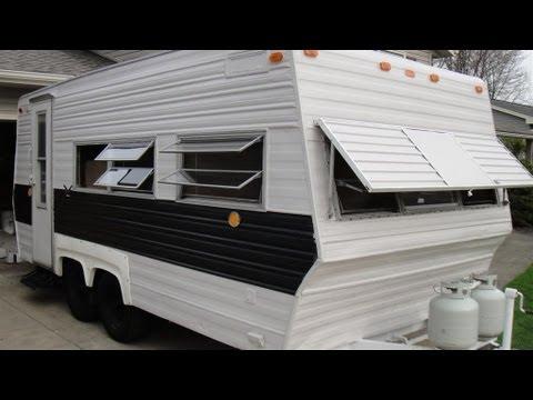 Camper Rebuild Bedroom Addition 2013 Camping year