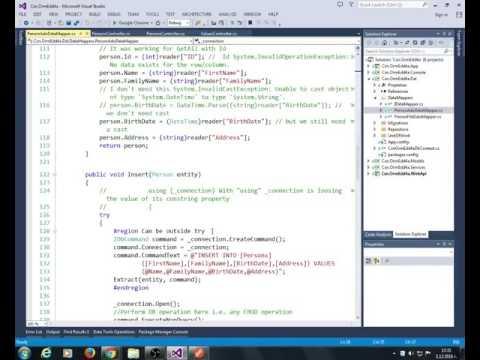 ASP.NET Web API Refactoring, EF, Consuming API with  jQuery, JSONP, CORS, Angular 4a