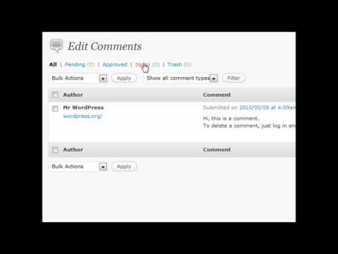 Wordpress Comments Section Vid 8 - Website Design