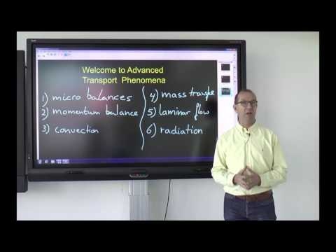 watch Advanced Transport Phenomena | DelftX on edX | Course About Video