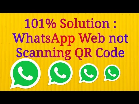 100% Solution : Whatsapp Web Not Working/Scanning QR Code on PC / Computer