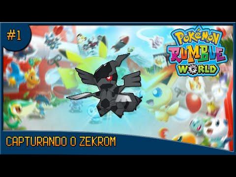 Pokémon Rumble World - Zekrom Catch!