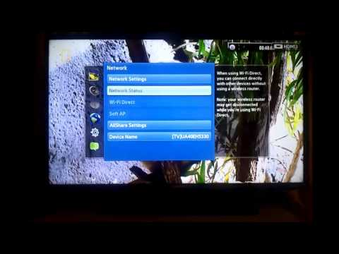 Samsung TV IP Address
