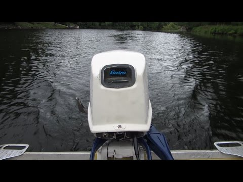 OUTBOARD ELECTRIC MOTOR CONVERSION