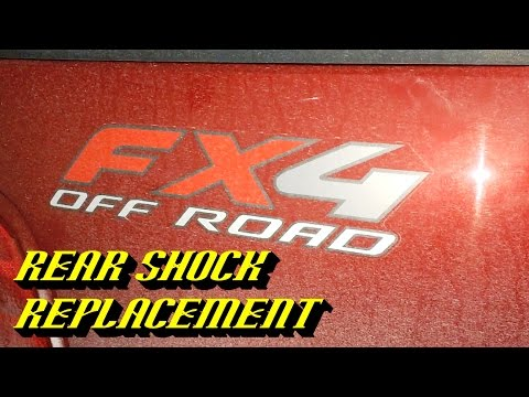 1997-2004 Ford F-150: Rear Shock Replacement