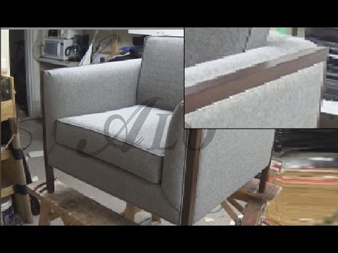 DIY: HOW TO UPHOLSTER A CHAIR - ALO Upholstery