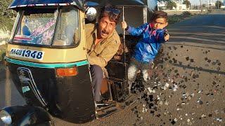 छोटू की रिक्शा | CHOTU KI RIKSHA | Khandesh Hindi Comedy Video | Chotu Dada Comedy