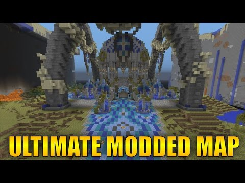 THE BEST MODDED MINECRAFT MAP EVER? - Minecraft Xbox 360/One/PS3/PS4/WiiU