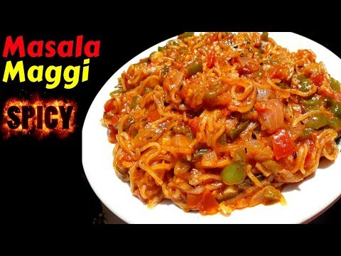 Maggi Masala Recipe | Spicy Maggi Recipe | Masala Maggi Recipe in Hindi | Veg Maggi | Apna Zayka
