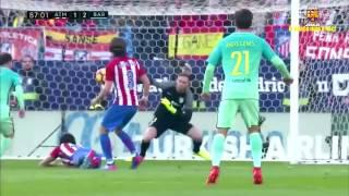 Atlético de Madrid vs FC Barcelona [1-2][26/02/2017][La Liga - Jornada 24] EL BARÇA JUGA A RAC1