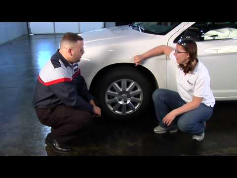 How to Check Your Tire Size - Sears Blue Automotive Crew Car Care Tips