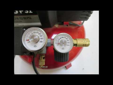 Connect an airbrush to your shop compressor