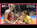 Poland Vs Thailand Highlights Day 2 Womens Volleyball Olympic Qualification Tournament 2019