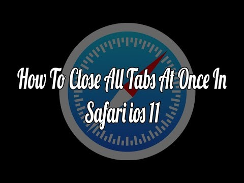 How to Close all Tabs at Once in Safari on iPhone & iPad (iOS 11)