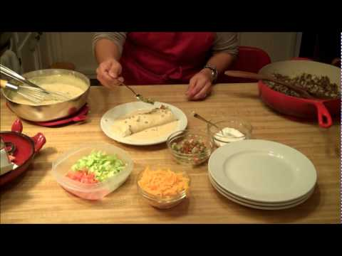 Luci Cooking Smothered Burritos - Part 2