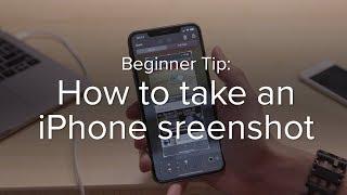How to take an iPhone screen shot