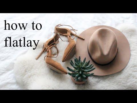 HOW TO MAKE FLATLAYS FOR INSTAGRAM + EDIT | HEYDAHYE