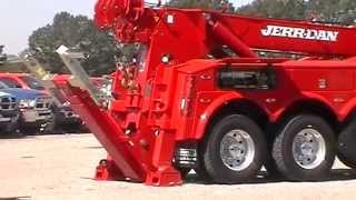 K4791 2012 Kenworth T800   Jerr Dan 50 Ton Integrated Wrecker