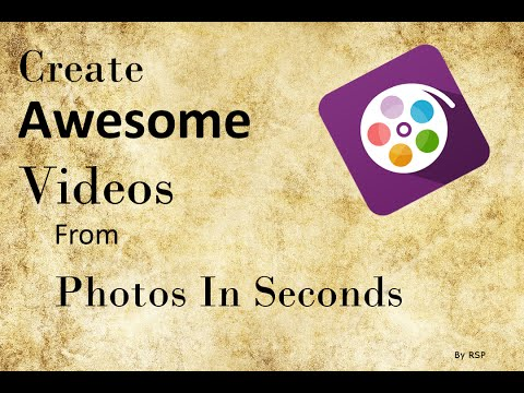 Create Video From Photos in Seconds