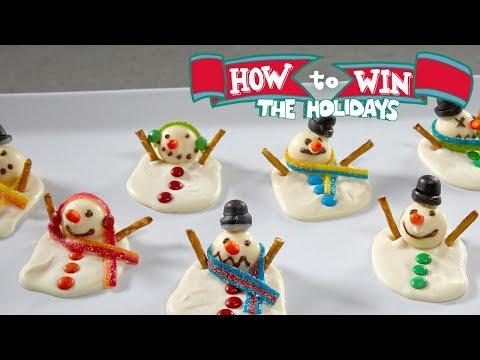 Melting Snowman Bark | Food Network