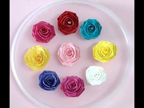 How to make paper quilling rose : QuillingStyle