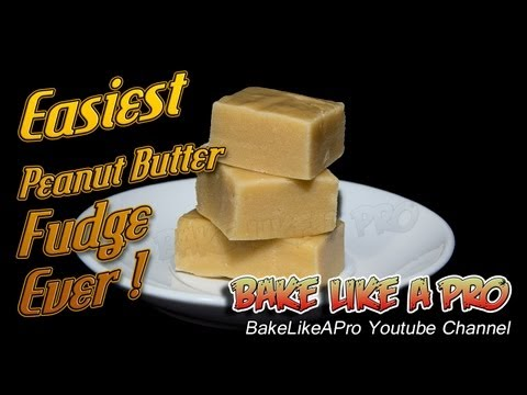 Easiest Peanut Butter Fudge Ever Recipe