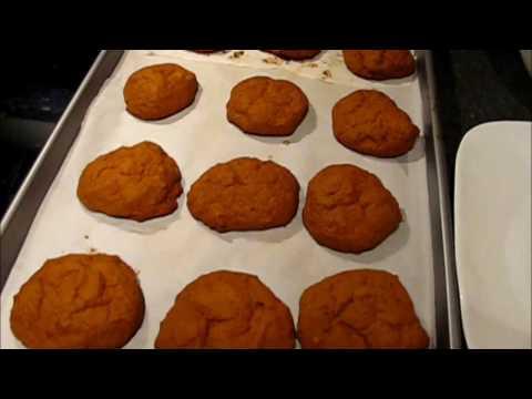 how to make cookie (Pumpkin and Cinnamon cookies)-Simple way