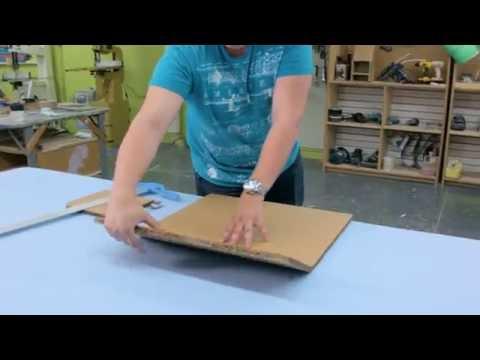 04.3 - Bending - Bending triple-wall cardboard II