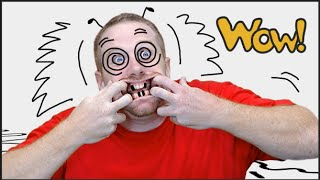 A crazy Face | English Stories for Children | Story for Kids with Steve and Maggie