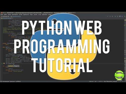 Python Web Programming - Parsing Xml