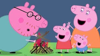 Peppa Pig English Episodes 🔥 Campfire Fun Time With Peppa Pig | Peppa Pig Official